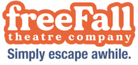 """freeFall logo and the tagline """"Simply escape awhile."""""""